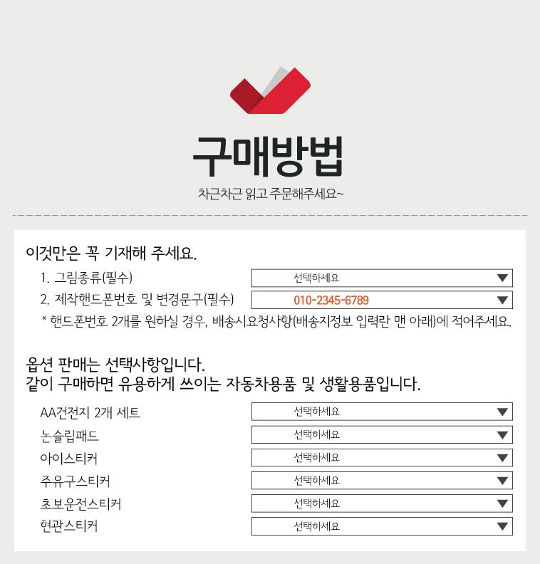 럭셔리LED주차번호판 - 반디몰, 9,900원, 주차번호판, 아크릴/스테인레스